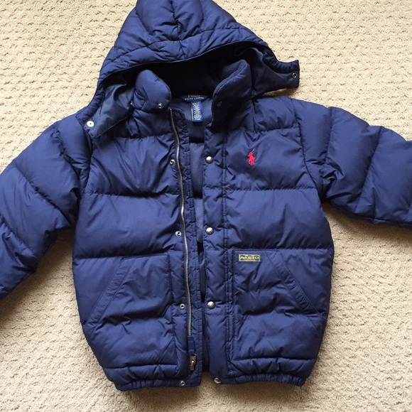 0dc3ebfb3 Polo Ralph Lauren Boys Jacket M 10-12 Down Navy. M_5a87248ca825a6c2862277c9